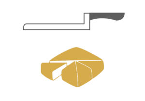Tipologia di taglio formaggio 5