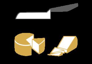 Tipologia di taglio formaggio