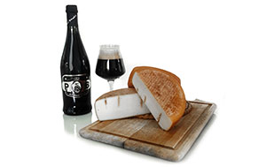 Toma dell'Abate formaggio affinato in birra d'abbazia