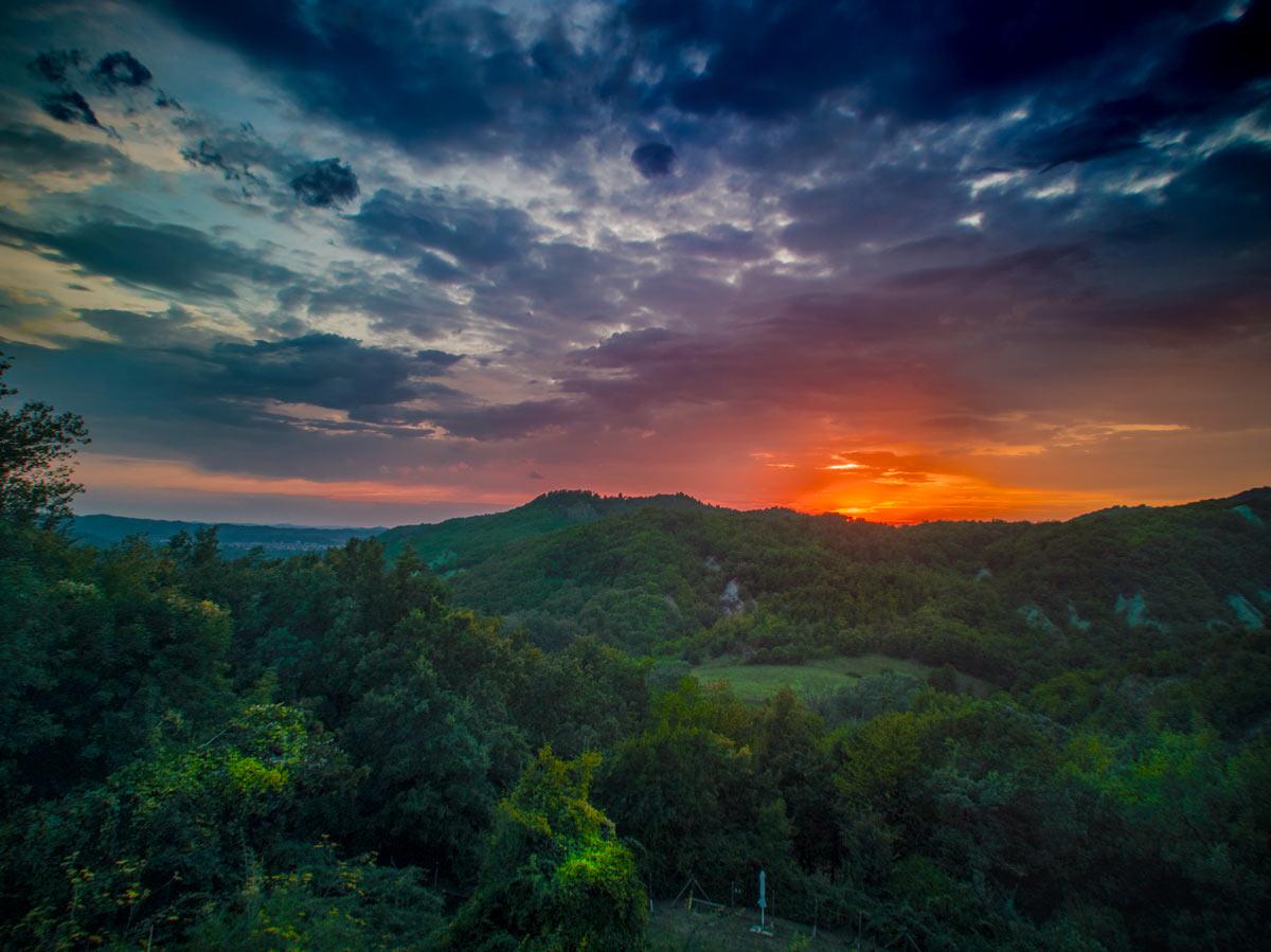 Il paesaggio dell'Alta Langa