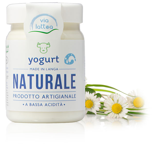 Yogurt vaccino di Langa naturale Via Lattea