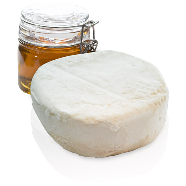 Castellana robiola goat cheese from raw milk