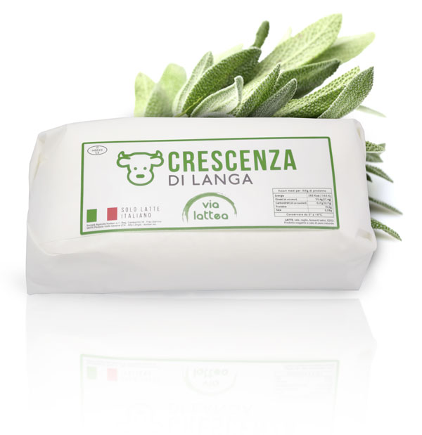 Crescenza from Langa - crescenza from italian cow milk, Korban Via Lattea dairy