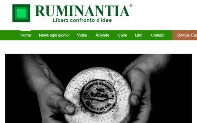 La nostra intervista per Domus Casei di Ruminantia.it